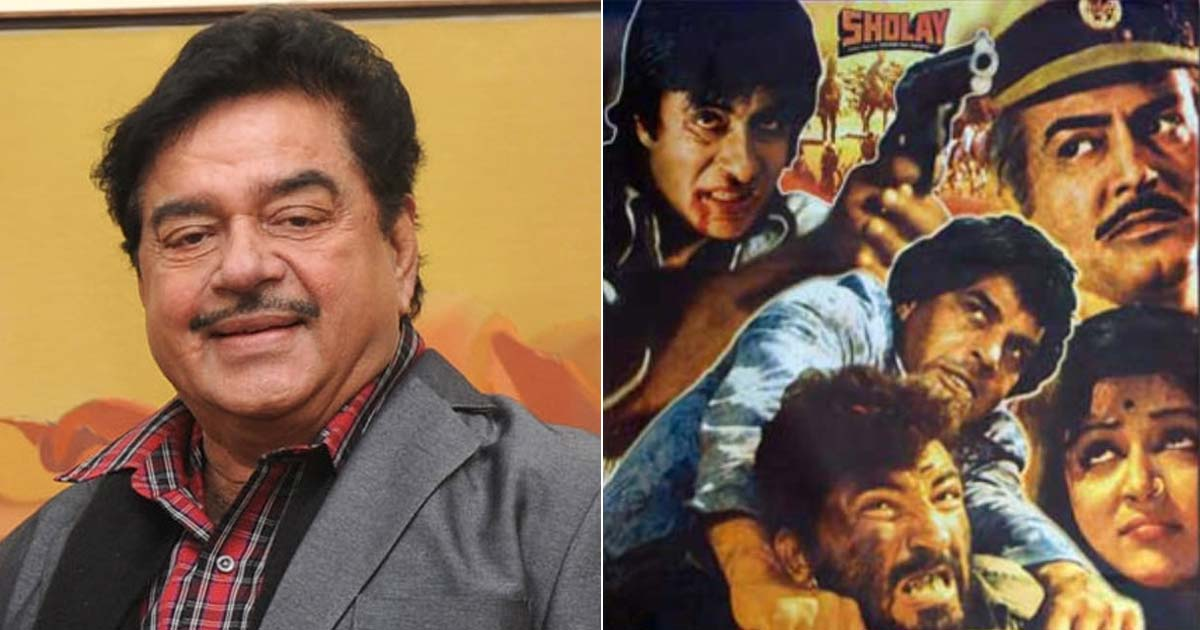 Shatrughan Sinha Regrets Rejecting Sholay But Is Happy For Amitabh Bachchan