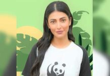 Shruti Haasan is Brand Ambassador for WWF India