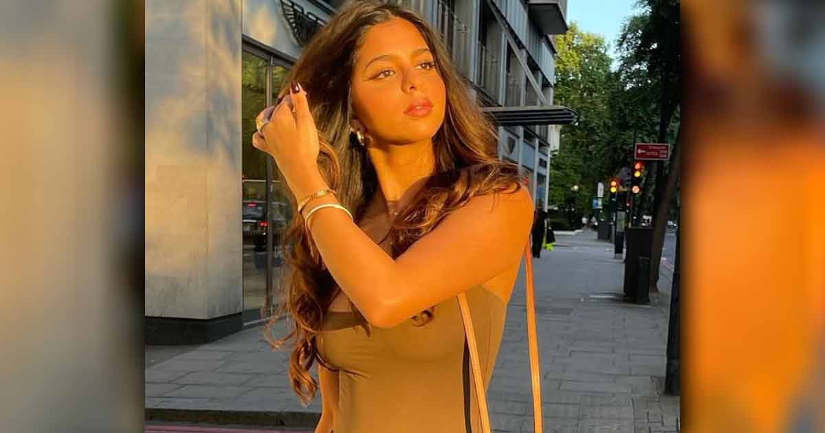 Suhana Khan strikes a 'golden' pose in new Insta post