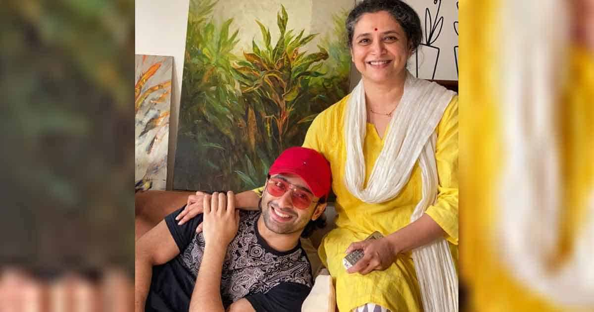Supriya Pilgaonkar and Shaheer Sheikh talk about meaning of perfect family
