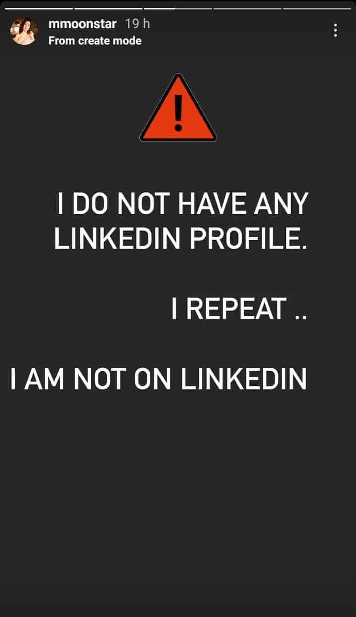 Taarak Mehta Ka Ooltah Chashmah Fame Munmun Dutta Warns Fans About Fake Profile On LinkedIn