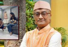 Taarak Mehta Ka Ooltah Chashmah's 'Bapuji' Amit Bhatt Mops The Floor