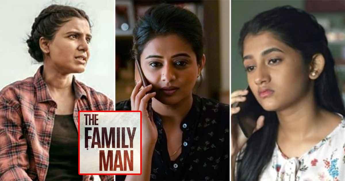 The Family Man Season 2's 'Benchmark Setting' Women: 'Raji' Samantha Akkineni, 'Suchi' Priyamani & 'Dhriti' Ashlesha Thakur
