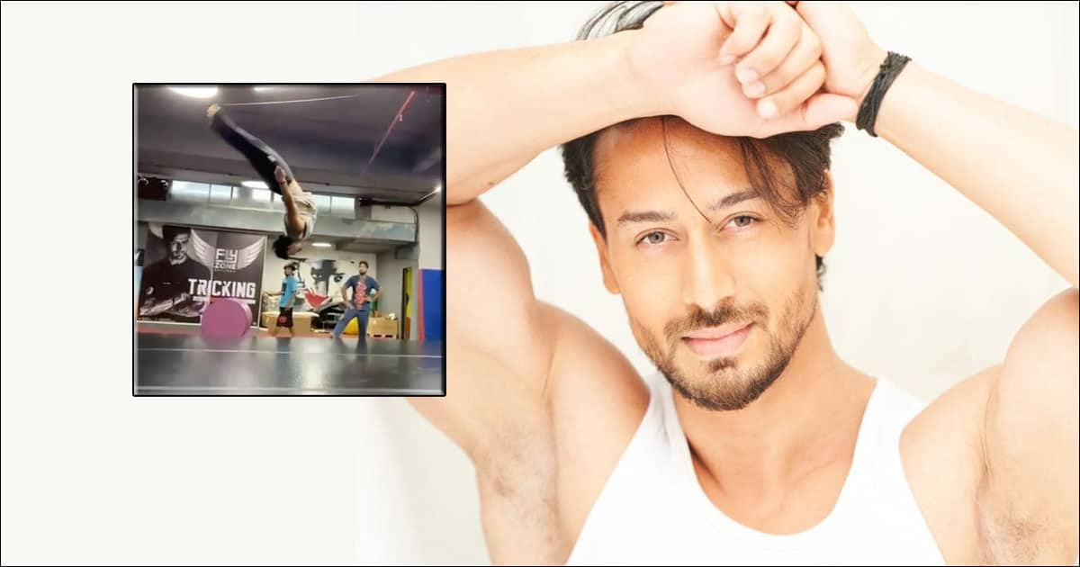 Tiger Shroff is inspiring his fans to be fit, Boomerang shares a video