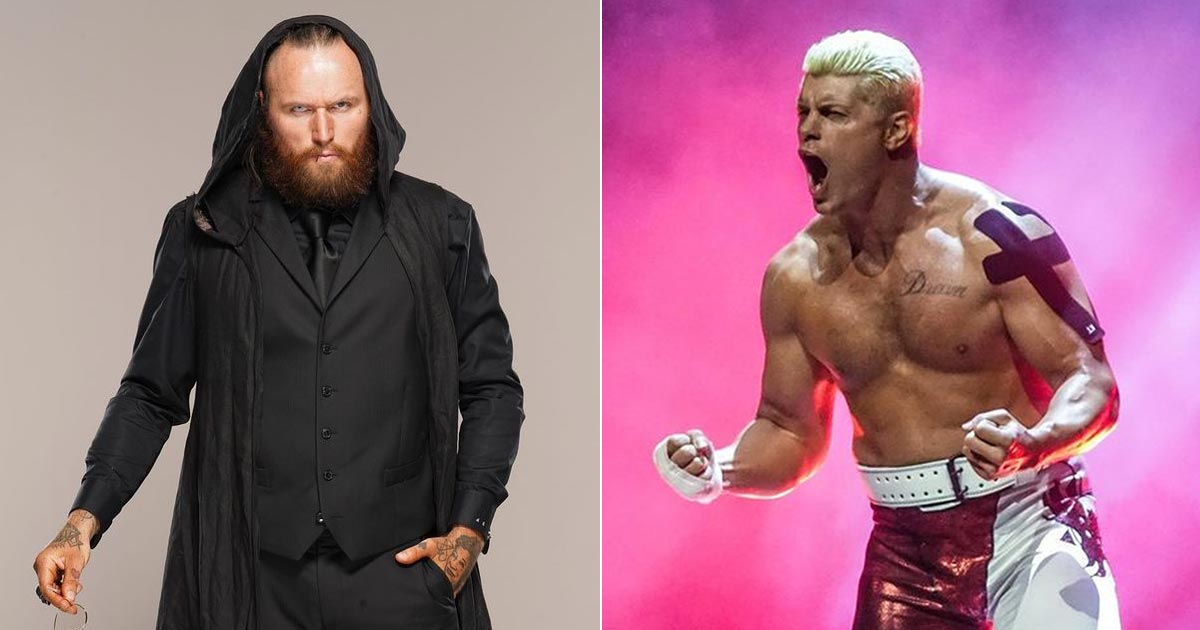 Tommy End AKA Aleister Black Debuts On AEW