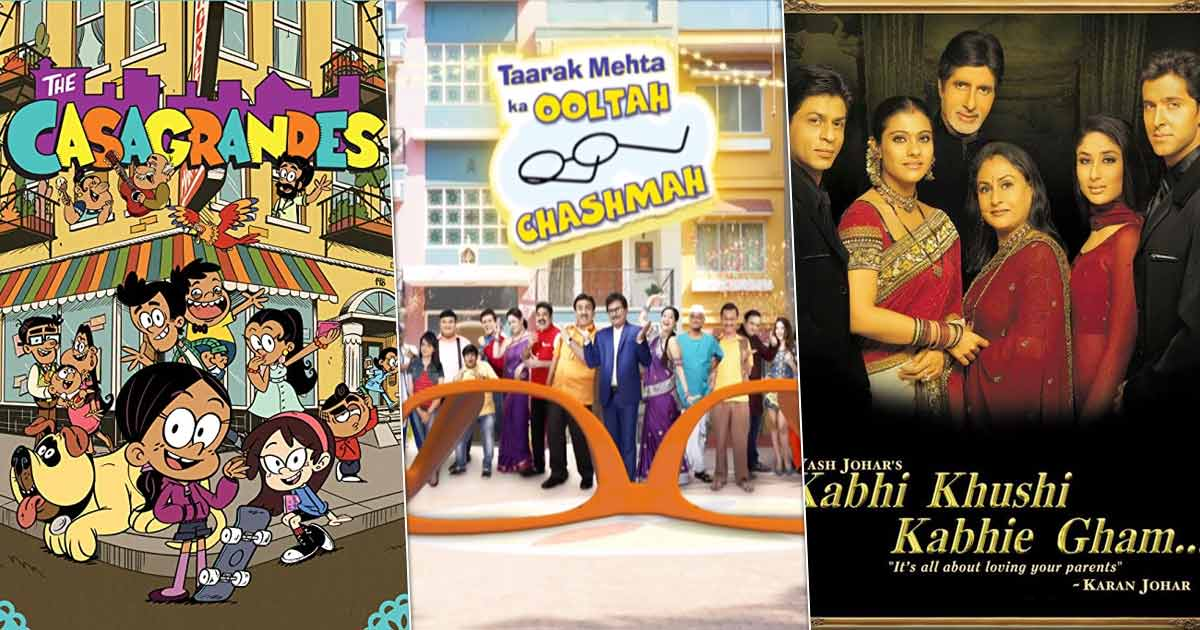 Taarak Mehta Ka Ooltah Chashmah To The Casagrandes: Shows, Movies That Define Family & Make Us Want To Hug Ours