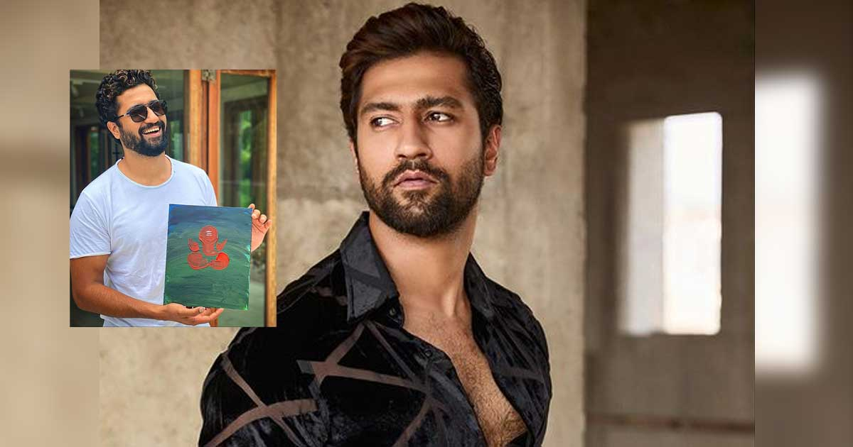 Vicky Kaushal shares painting of Lord Ganesha