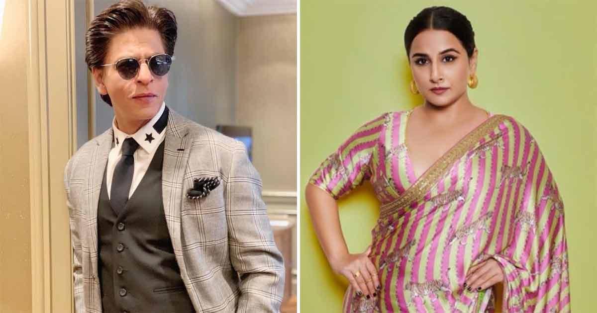 Sherni Actress Vidya Balan Reveals Why She Has Not Worked With Shah Rukh Khan Yet