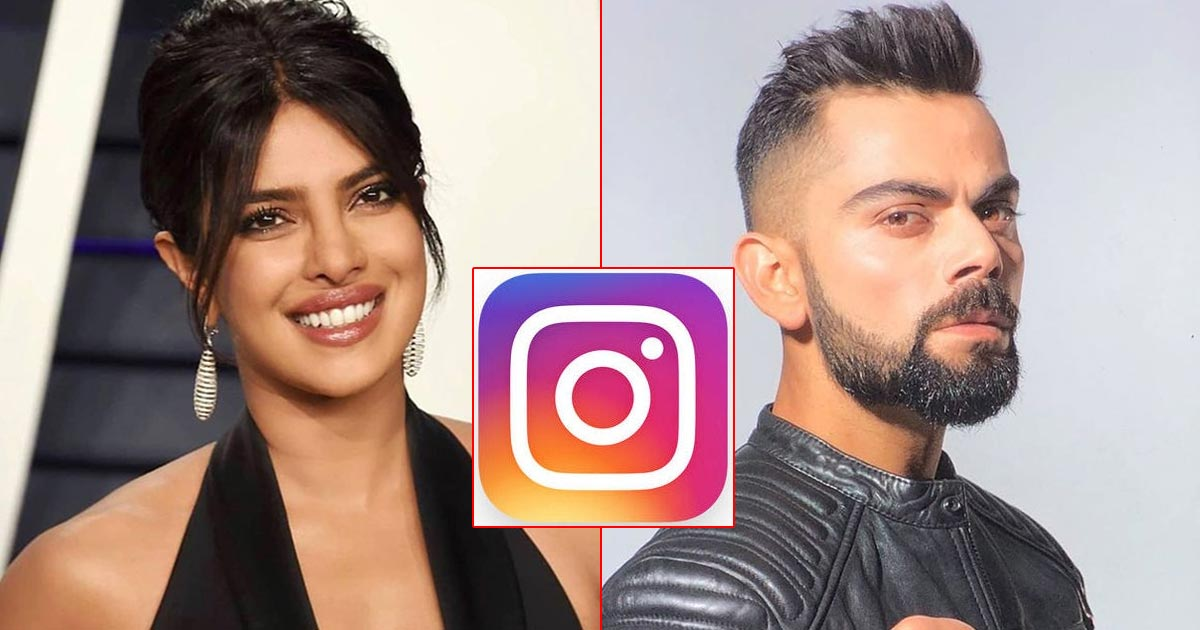 Virat Kohli With 5 Crores/Post, Priyanka Chopra With 3 Crores Are The Only Indian Celebs On Instagram Rich List, Check Out