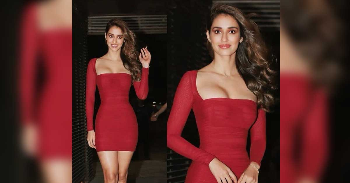 """When Disha Patani Was Trolled For Donning A Bodycon Dress With A Plunging Neckline & A Netizen Wrote, """"Why So Desperate To Expose?"""" - Check Out"""