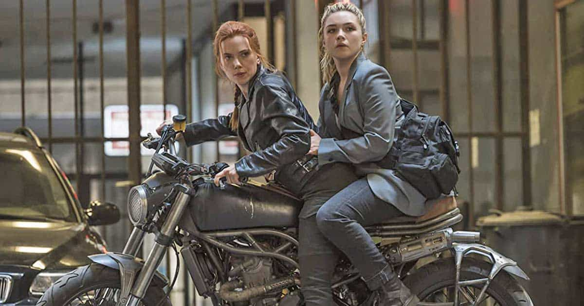 When Florence Pugh Revealed Her Antiques With Scarlett Johansson From Black Widow Sets