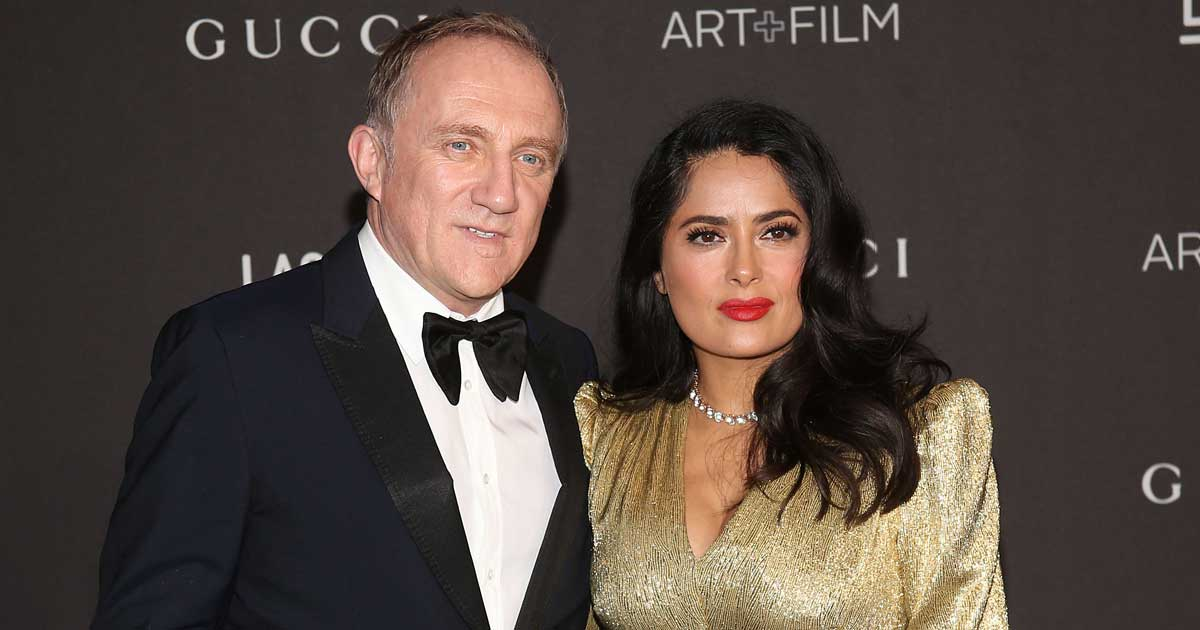 When Salma Hayek Assumed Hubby François-Henri Pinault Was Having An Affair With A Woman Named Elena – It Will Leave You Splits