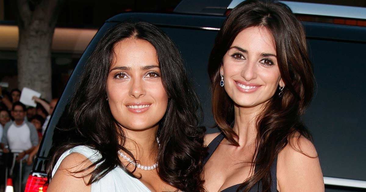 When Salma Hayek & BFF Penélope Cruz Were Labelled As 'Lesbians' & The Latter Grabbed Her As* Amid A Press Conference, Read On