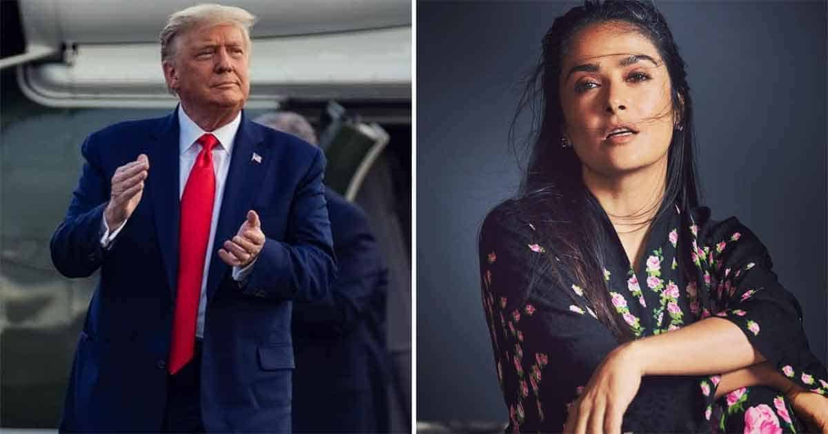 Did You Know? Former US President Donald Trump Asked Salma Hayek On A Date! Here's How She Responded To The Offer