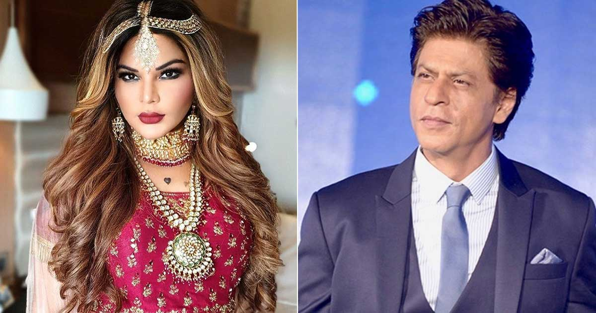 When Shah Rukh Khan Has The Funniest Answer On A Question About Rakhi Sawant