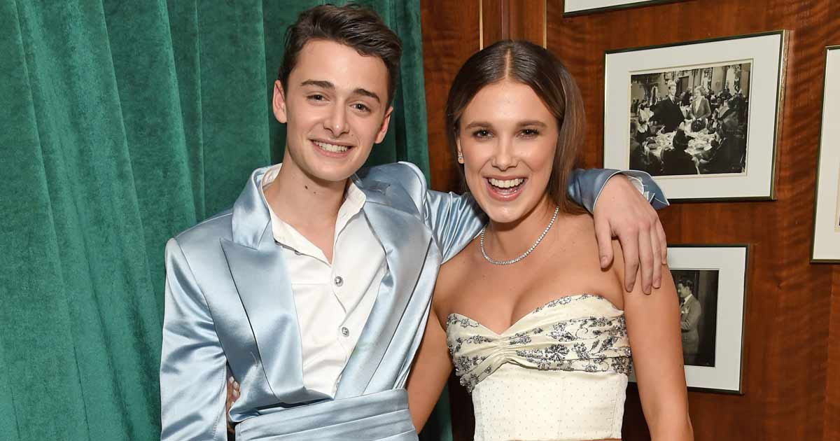 When Stranger Things' Millie Bobby Brown & Noah Schnapp Were Romantically Linked To Each Other