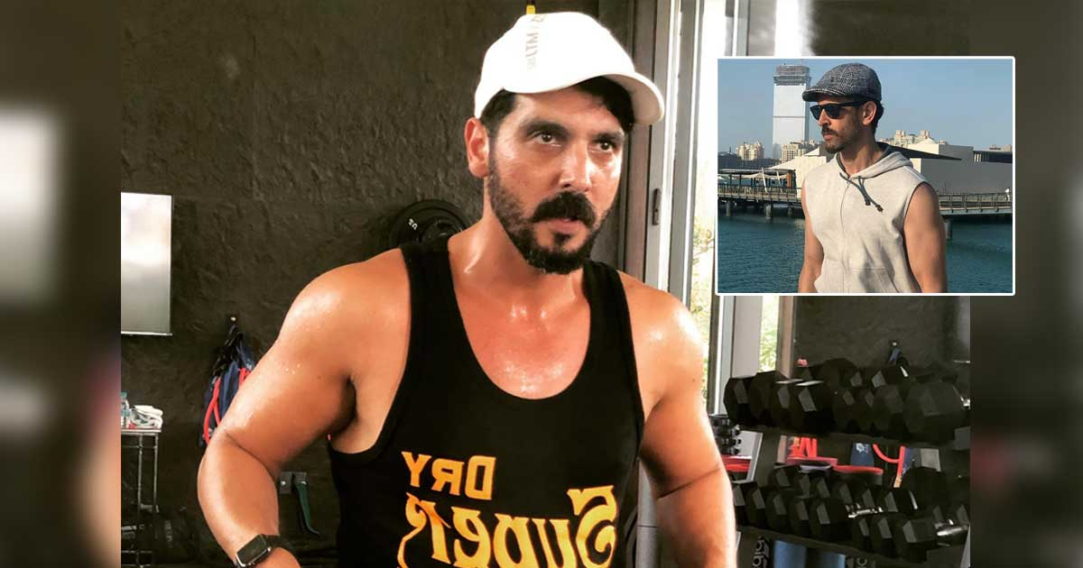 Zayed Khan's Haircut Reminds A Fan Of War's Hrithik Roshan As He Celebrates His Birthday With Sussanne Khan - See Video