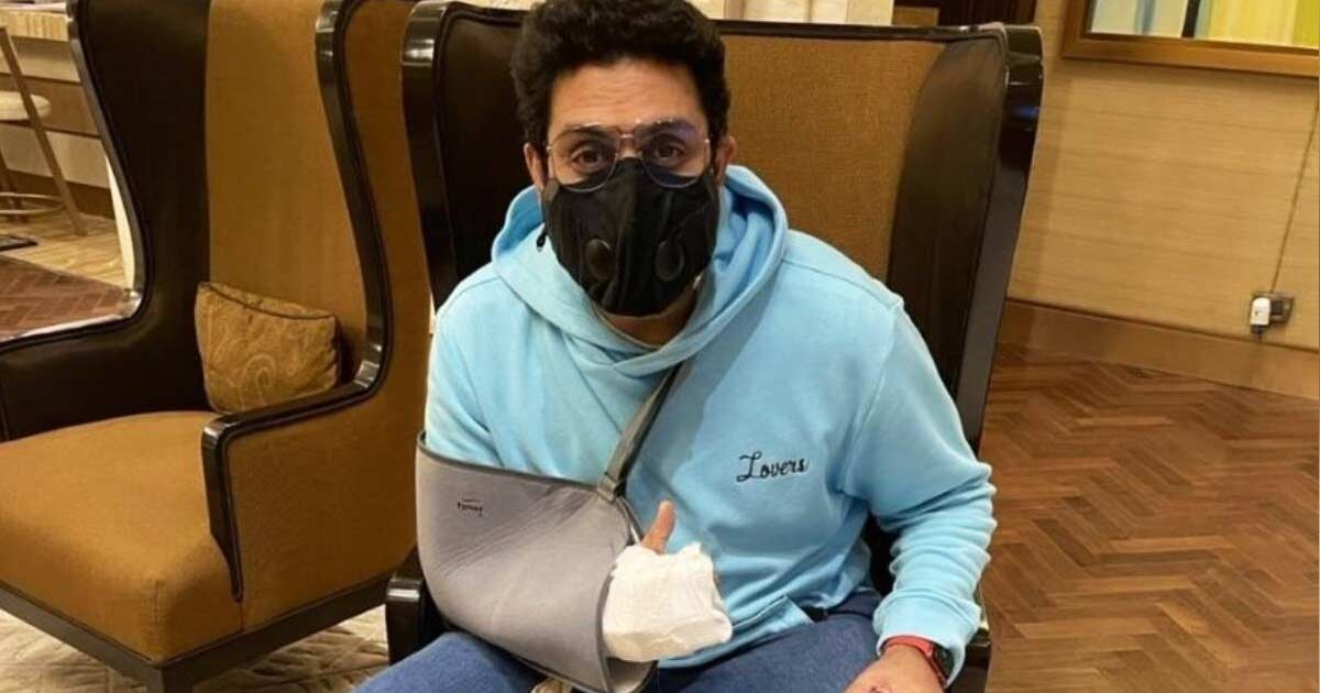 Abhishek is all 'patched-up' post 'freak' accident, resumes work