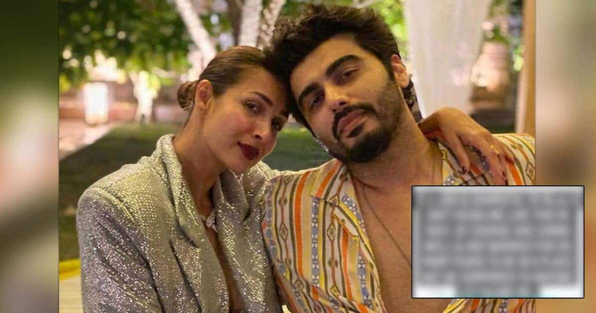 Arjun Kapoor Calls Out Media House For Questioning & Comparing His & Malaika Arora's Financial Earnings