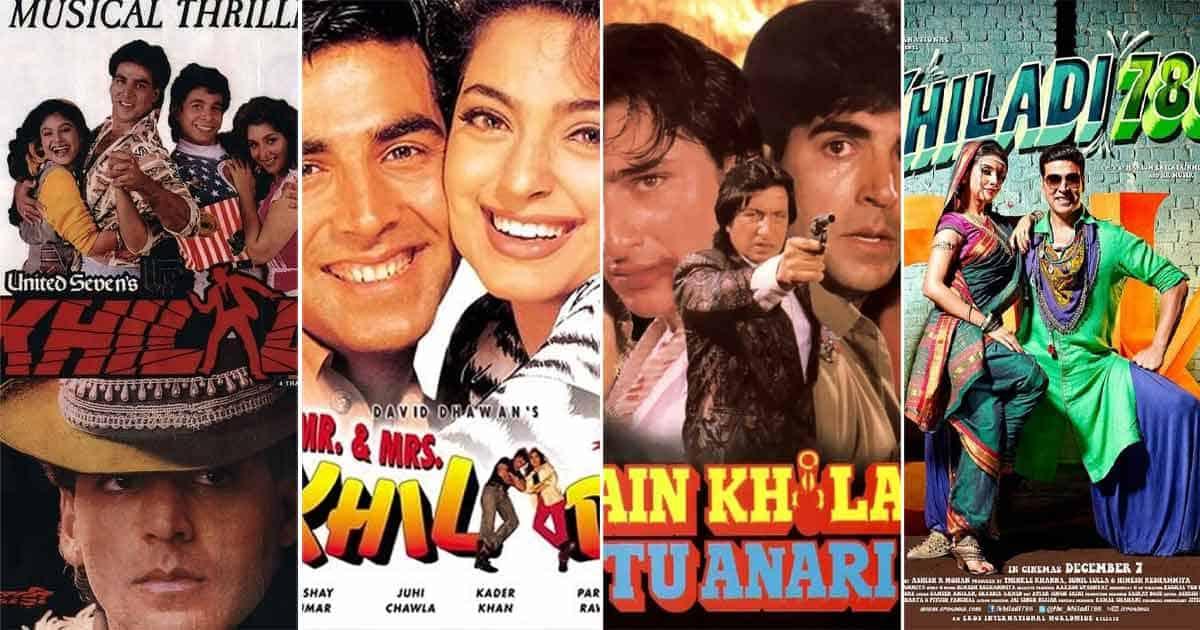 Akshay Kumar starred in several 'Khiladi' movies