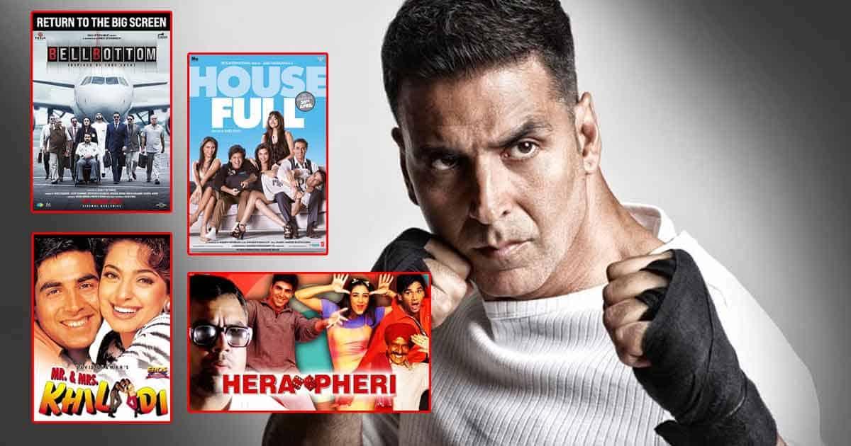Akshay Kumar Has Starred In Around 10 Film Franchises Including Khiladi, Housefull, Hera Pheri, OMG - Oh My God! & More