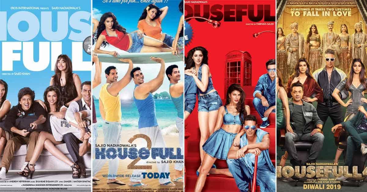 Akshay Kumar has starred in all 4 'Housefull' movies