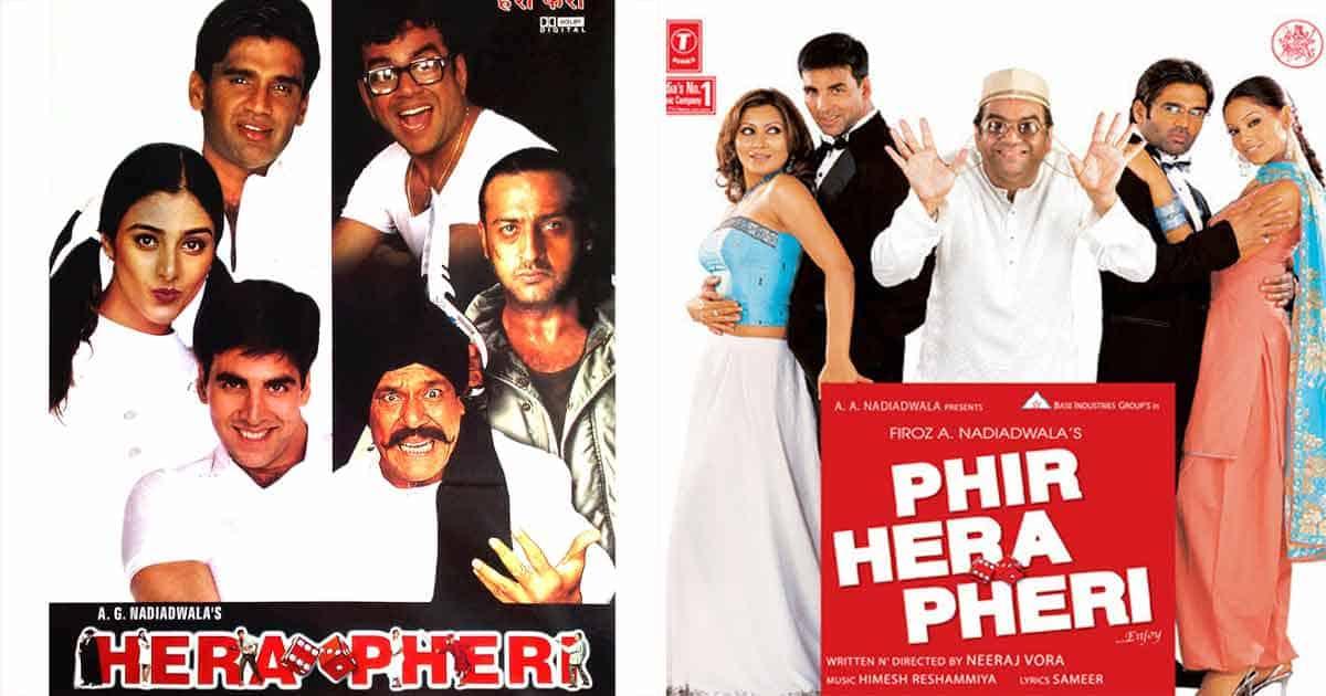 Akshay Kumar played Raju in both Hera Pheri films