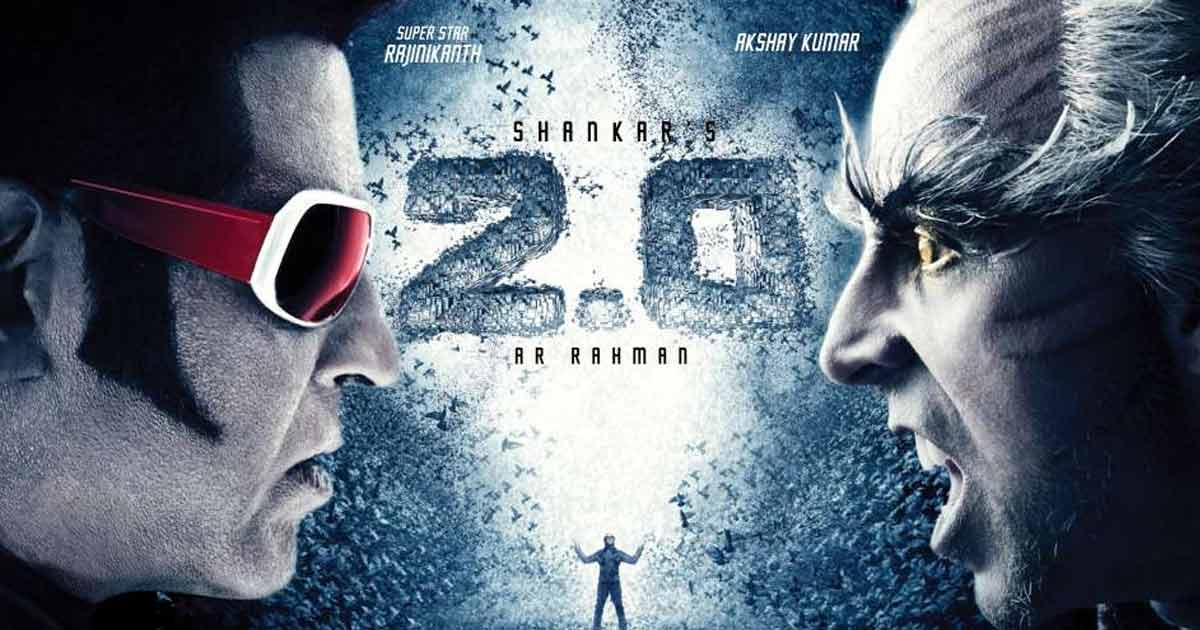 Akshay Kumar in the poster of 2.0