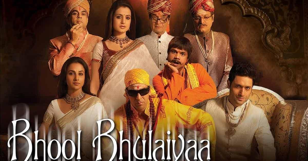 Akshay Kumar starred in The OG Bhool Bhulaiya