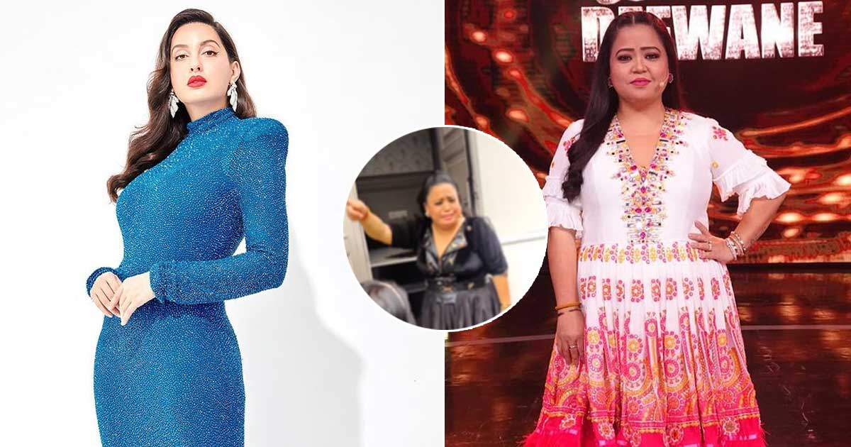 Paparazzi Ignores Bharti Singh To Capture Nora Fatehi – See Video