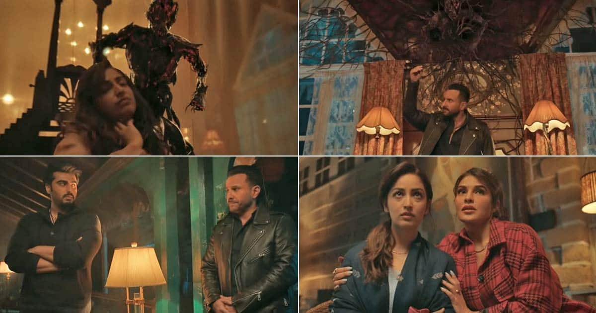 Bhoot Police Trailer: Join The Crazy Brothers Saif Ali Khan & Arjun Kapoor As They Drive Away Bhoots, Daayans, Churails While Taking You On A Laughter Ride