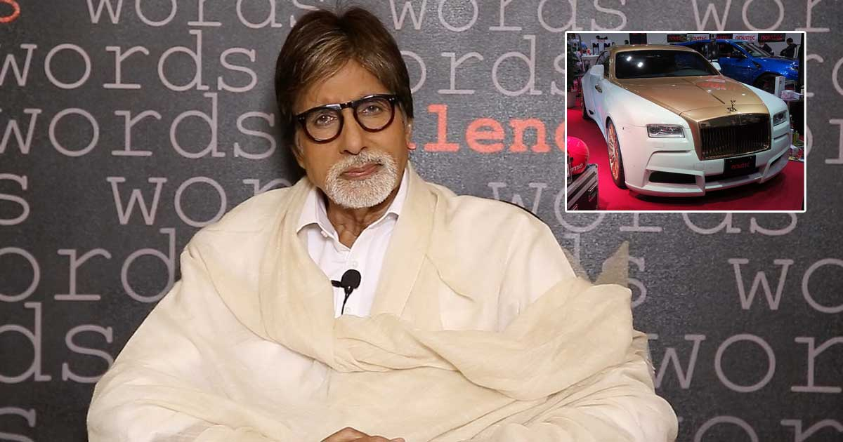 Amitabh Bachchan's Seized Rolls-Royce Has Changed Owner