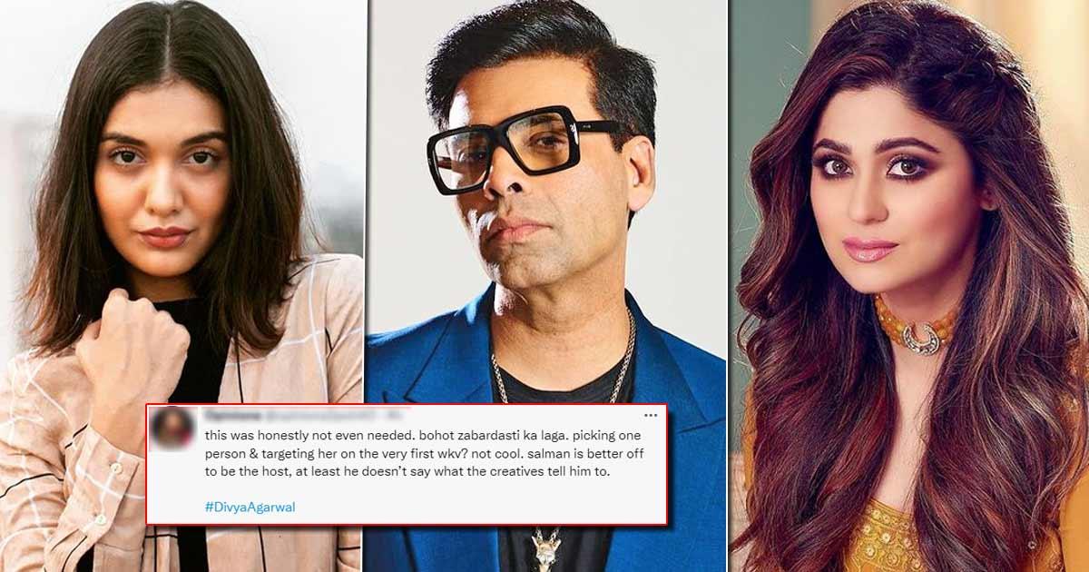 Bigg Boss OTT: Karan Johar Is Being Slammed For Being Biased Towards Shamita Shetty
