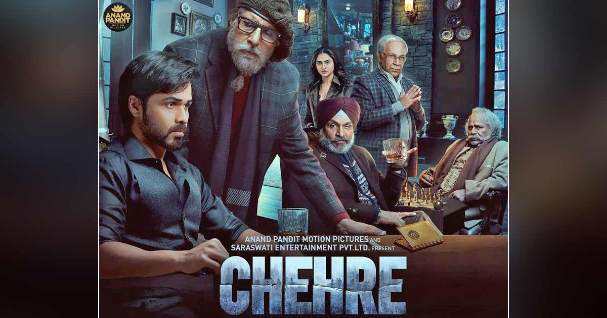 Chehre Box Office Day 1: Big B, Emraan Hashmi's Thriller Has A Low Opening, Hopes For A Turnaround Over The Weekend