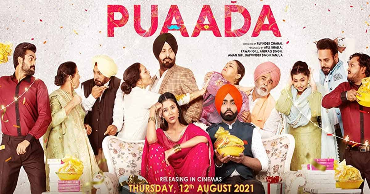 Box Office - Punjabi film Puaada is the first success post theatre reopening