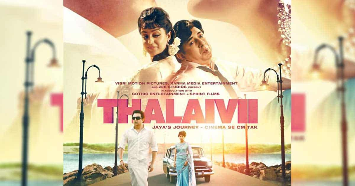 Bringing Jayalalithaa's life to the big screen, Kangana Ranaut starrer Thalaivii to release in theatres on 10th September