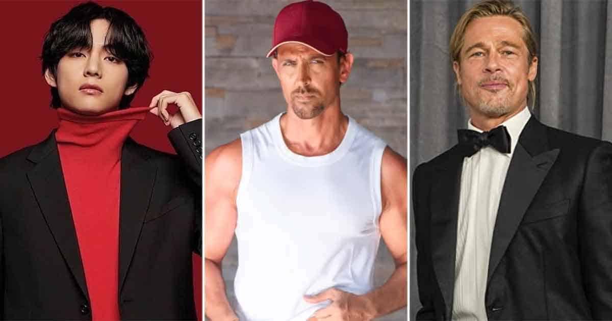 BTS' V Beats Brad Pitt & Hrithik Roshan In The List Of Most Handsome Men In The World