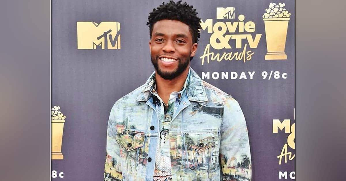 Chadwick Boseman honoured by wife with emotional performance