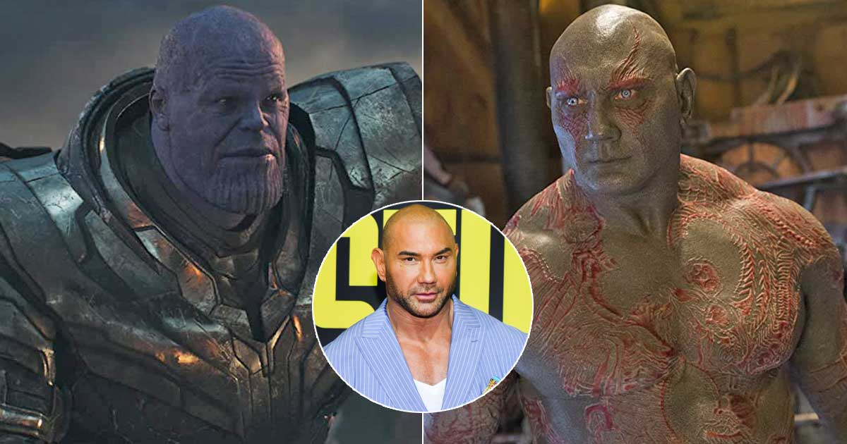 Dave Bautista Talks About Drax-Thanos Relationship