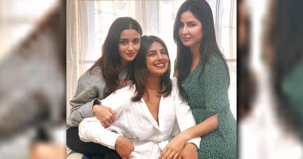 Priyanka Chopra Jonas Reveals Jee Le Zaraa Was The Child Of an impulsive call to her Besties Alia Bhatt & Katrina Kaif In 2019