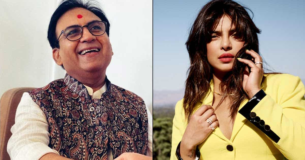 Dilip Joshi Had Worked With Priyanka Chopra In A Film, Any Guesses?