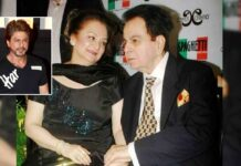 """""""Dilip Kumar's Son Might Have Looked Like Shah Rukh Khan"""": Saira Banu's Candid Throwback, Read On"""