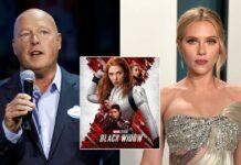 Disney CEO Bob Chapek Defends Hybrid Release Of Black Widow After Scarlett Johansson Lawsuit