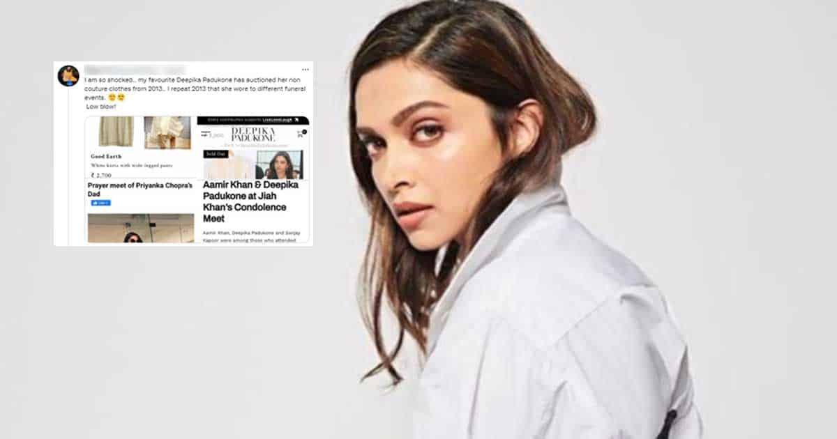 Do You Know? Deepika Padukone Is Auctioning Clothes That She Wore To Jiah Khan & Other Funerals!