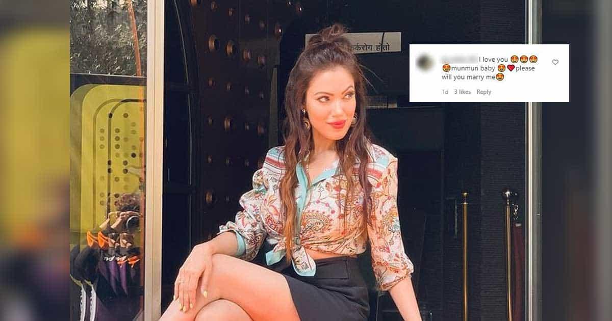 Fan Wants To Marry Munmun Dutta After Seeing Her In A Short Skirt!