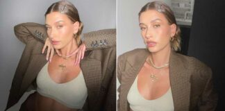 Hailey Bieber Flaunts Her Abs While Looking Stylish In A New Instagram Post
