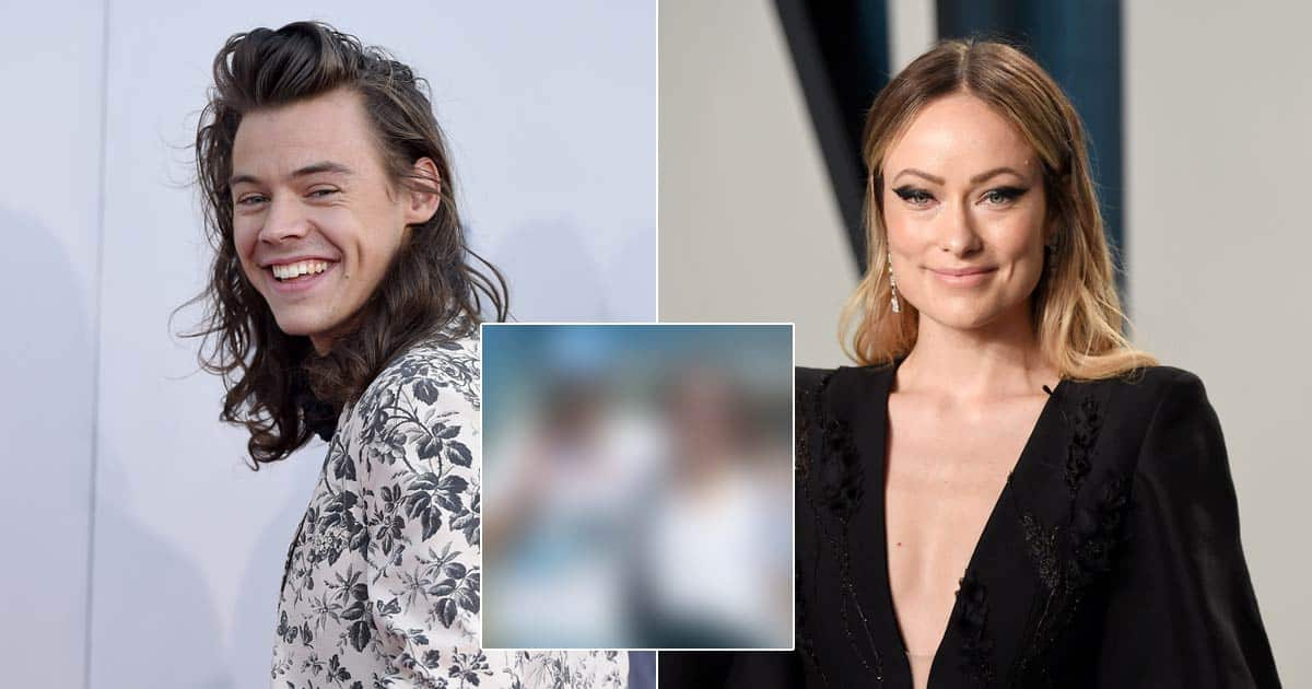 Harry Styles & Olivia Wilde Wear Matching Outfits & Embrace Each Other During A Stroll In LA