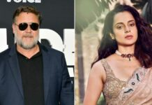 Hollywood veteran Russell crowe shows interest in working with Kangana Ranaut by retweeting a fans tweet