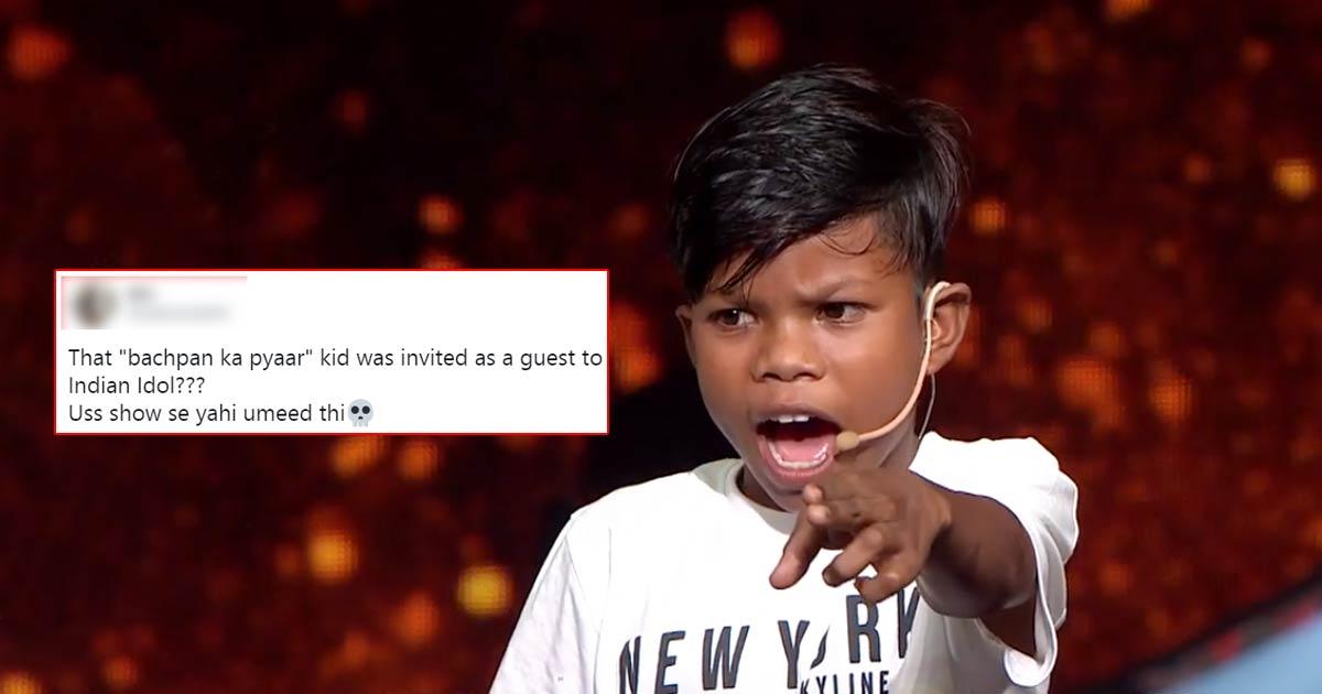 Indian Idol 12 Is Being Made Fun Of Over Inviting Baspan Ka Pyaar Boy On The Show