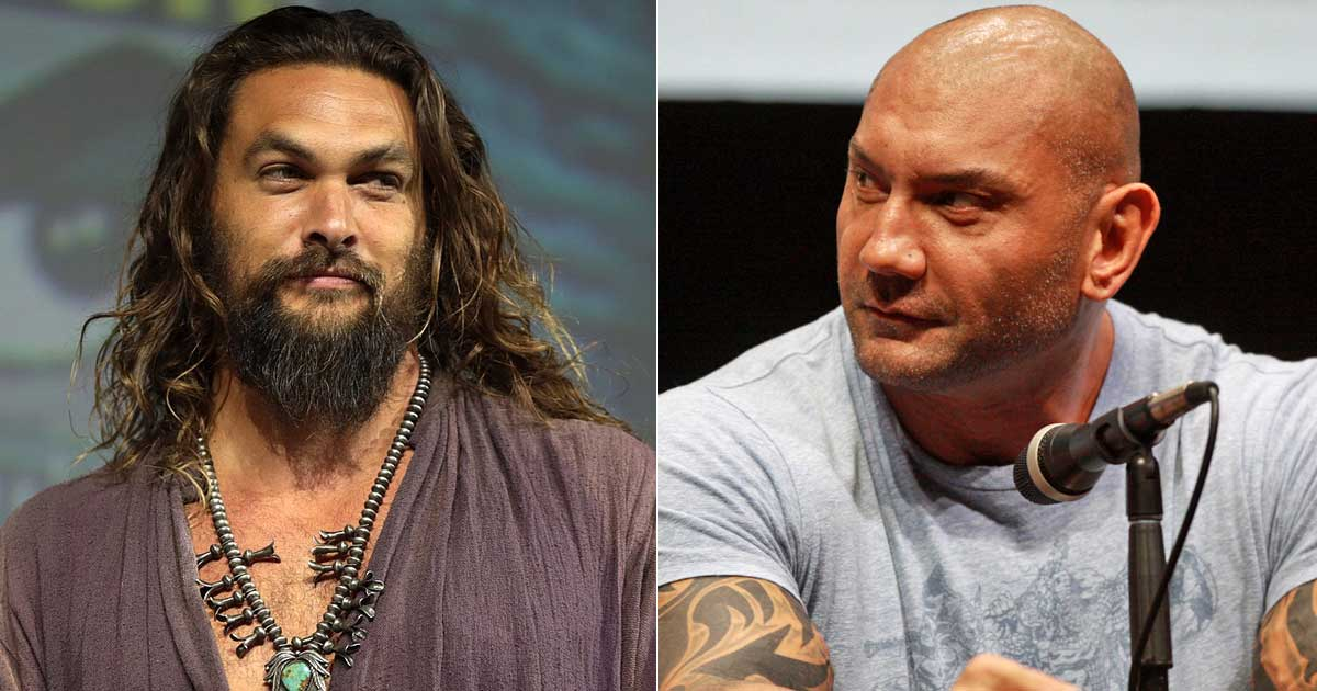 Jason Momoa & Dave Bautista's Lethal Weapon Type Movie Is Happening